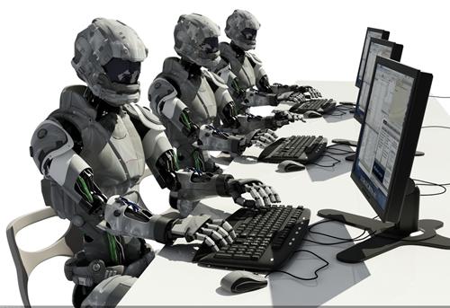 штучний інтелект працює в офісі